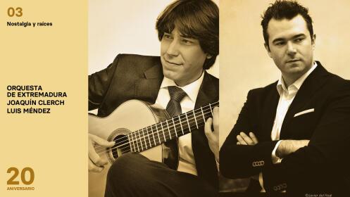 Orquesta de Extremadura. Nostalgia y raíces. CÁCERES 23 de octubre